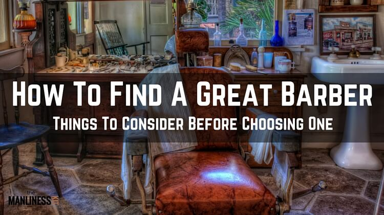 Find A Barbershop : How to find a great barber and why it is important