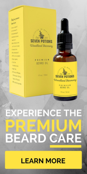 Discover the premium beard care by Seven Potions