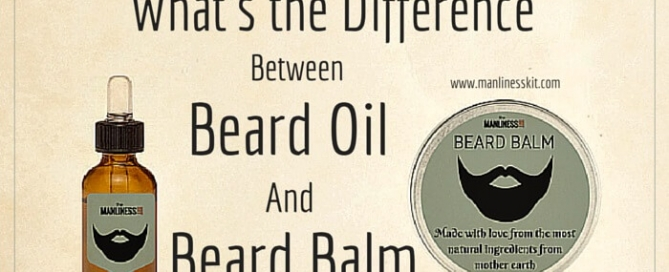 What is the difference between beard oil beard balm
